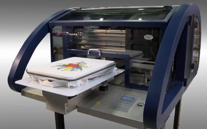 d6064960 Kornit Breeze 921 Commercial DTG T-Shirt Printer