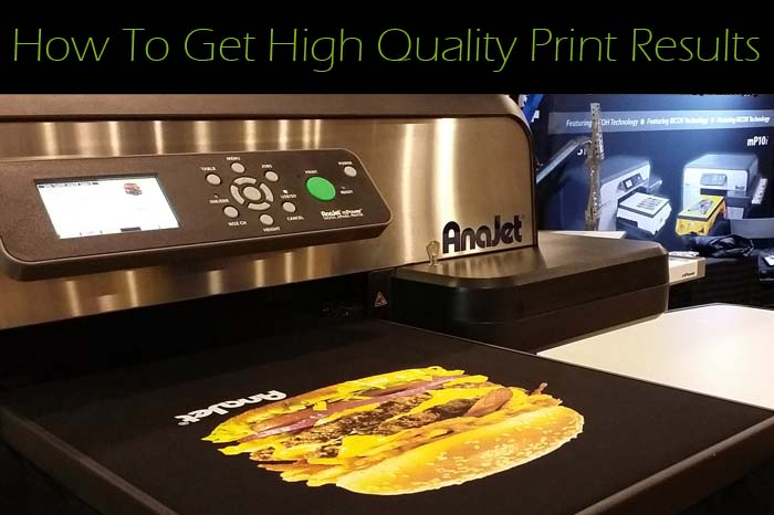 How to get high quality prints