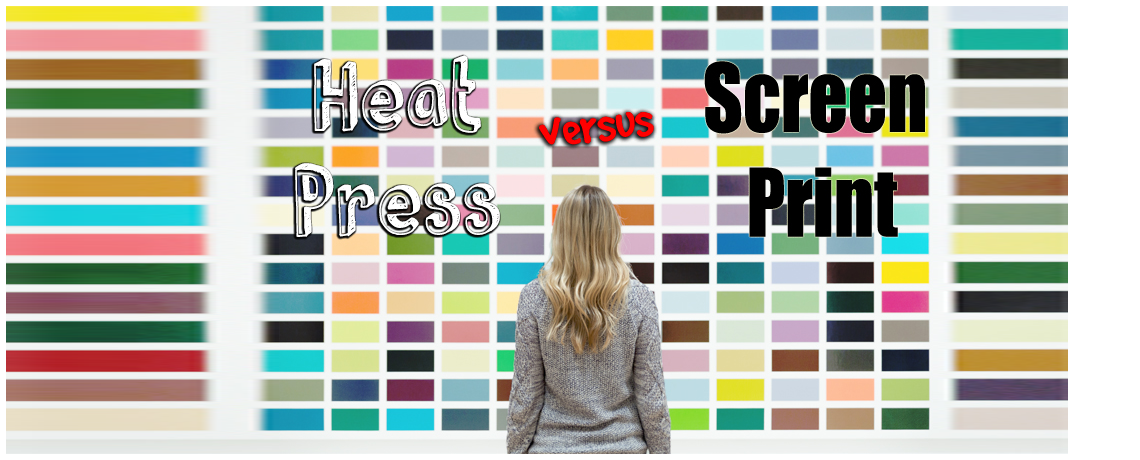 Heat Press Vs. Screen Print: What is the Difference Between Them?