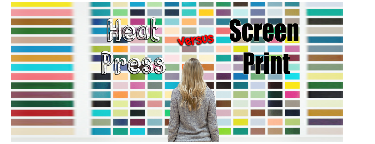 Heat Press Vs Screen Print What Is The Difference