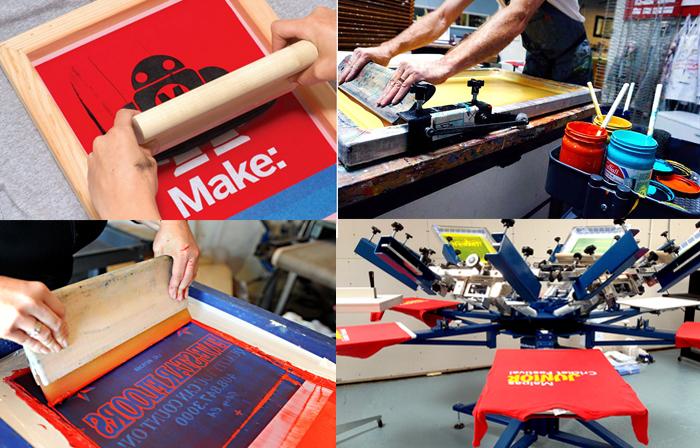 sreen printing college