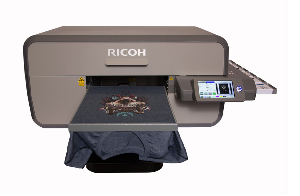 Ricoh Ri6000 industrial front view
