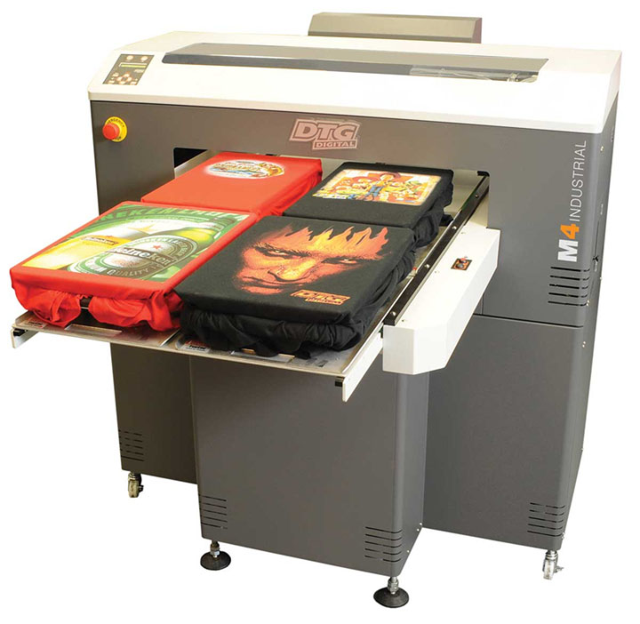 M4 Series DTG brand garment printer