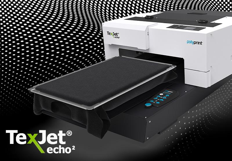 texjet echo display