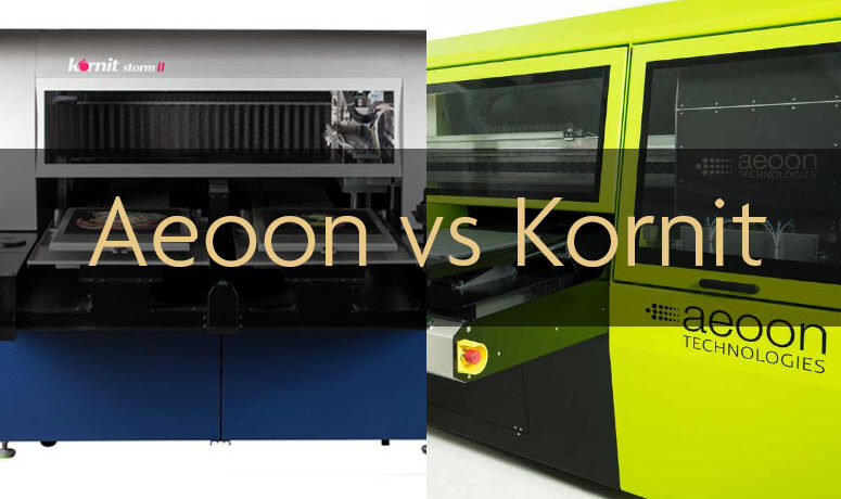 Aeoon vs Kornit: Which DTG Machine Is Better?