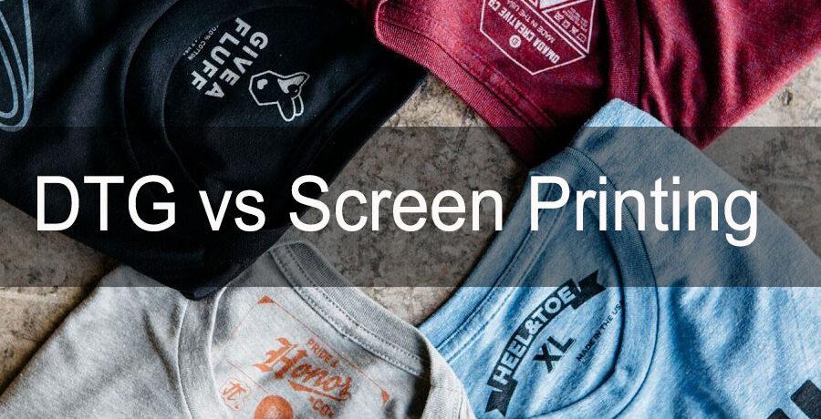 Is DTG Digital Printing as Good as Screen Printing?